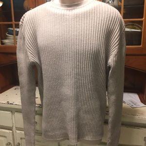 Men's GAP Crewneck Ribbed Sweater Shirt