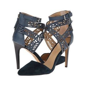 Joe's Jeans Midnight Laser Cut Heels