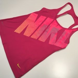 Nike sports tank with built in bra