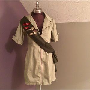 leg avenue Other - 💰$5 SALE❗️Leg Avenue Girl Scout Costume Size L