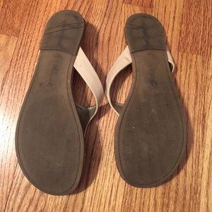 Liz Claiborne Shoes - Nude Sandals