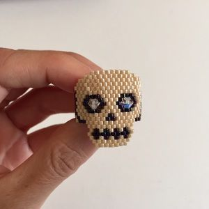 Urban Outfitters Jewelry - Amazing Hand Made Calavera/Skull Ring