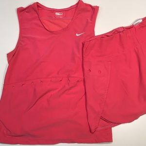 Nike Tennis Outfit Set: Top + Skirt