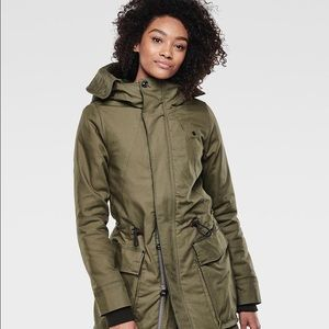 G-Star Duty Premium Hooded Relax Parka, used for sale