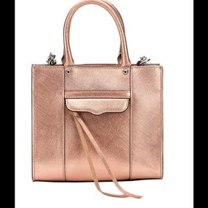 Rebecca Minkoff Handbags - Rebecca Minkoff Rose Gold Crossbody
