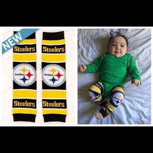 Other - Steelers Baby Leggings