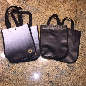 lululemon athletica Handbags - SET OF 4 LULULEMON REUSABLE BAGS!
