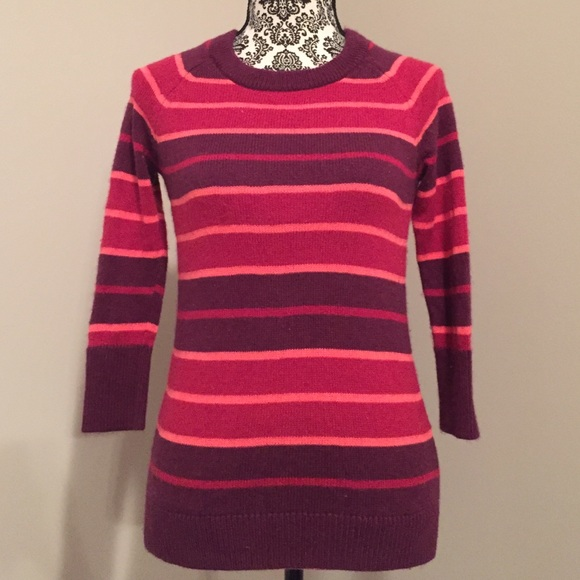 73% off Hive & Honey Sweaters - Hive and Honey pink and purple ...