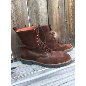 andre assous Shoes - Andre assous brown suede shoes boots SZ 41