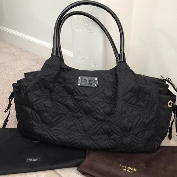 8945fbd4827b kate spade Handbags - Final price. Quilted Kate Spade Stevie Diaper Bag