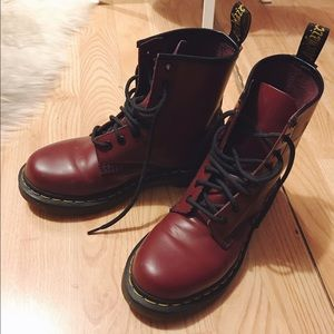 1460 Doc Martens in Cherry Red Size 6