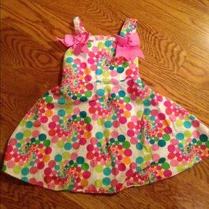Bonnie Jean Other - Final price Colorful polka dot dress!