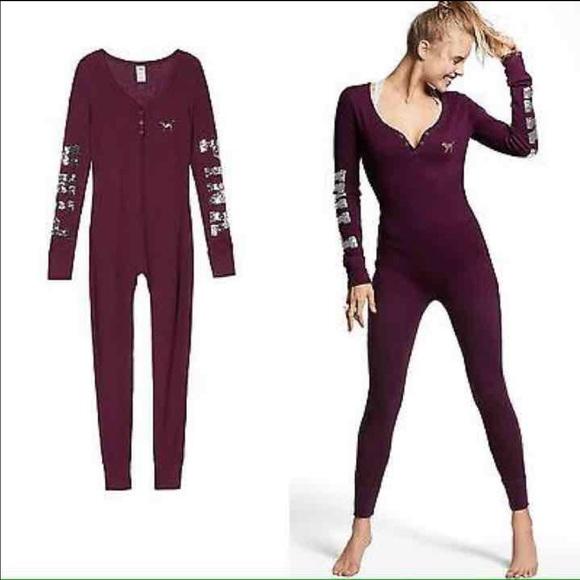 Pink Victorias Secret Intimates Sleepwear Vs Pink Bling Naughty