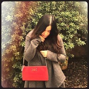 NWT Kate Spade Red Bag Clutch Wellesley