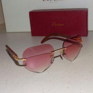Cartier Accessories - Cartier Custom Valentine Pink Heart Lens