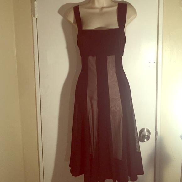 bd0c6caf51ee Maggy London Dresses   Skirts - Maggy London MACYS black and tan semi  formal dress