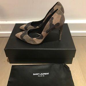 Saint Laurent Shoes - Saint Laurent camouflage pumps, 37