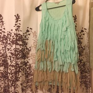 Blu Pepper Dresses & Skirts - Adorable fringe dress