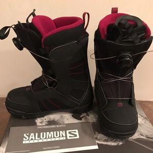 Salomon Scarlet Boa Snowboarding Boots