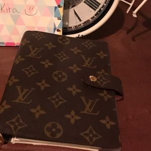 Louis Vuitton Other - Authentic Louis Vuitton agenda mm