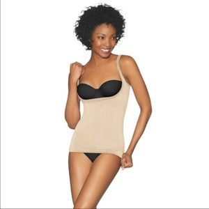 Maidenform Other - NWT Maidenform open bust shaping top in XL