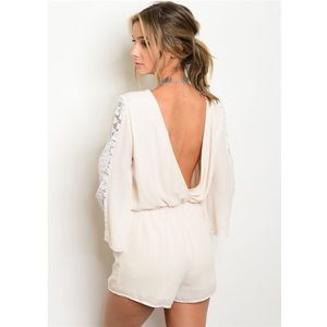 Pants - *SALE* New open back romper