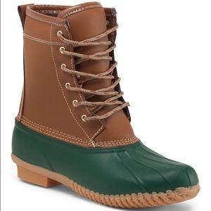 Khombu Shoes - Khombu letty lace up duck boots