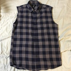 Forever 21 Other - Forever 21 cutoff flannel shirt