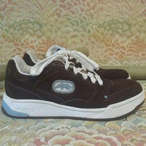"""Ecko Unlimited Shoes - Ecko Red """"Hoover-Hazey"""" Brown Suede Sneekers"""