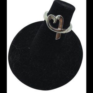 Tiffany & Co. Jewelry - Tiffany & Co. Open Loving heart designer ring