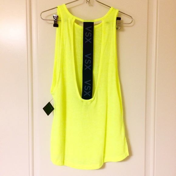 Image result for victoria secret lemon yellow racerback tank