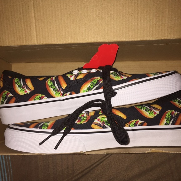 Vans Shoes - Cheeseburger Lowtop Vans BNIB