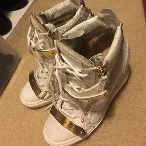 Giuseppe wedge sneakers