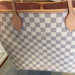 Louis Vuitton Handbags - $1270 🅿️🅿️!! LV Neverfull MM Rose Ballerine🌷