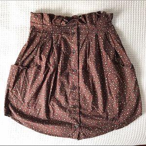 Wood Wood Dresses & Skirts - Wood Wood Paper Bag Skirt