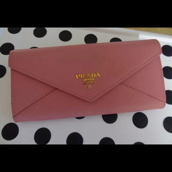 8e2b793347c344 Brand new Prada Nude Pink Wallet. M_587e06664e8d17615e136fe8