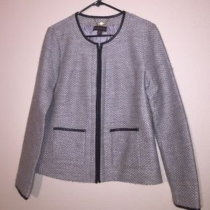 Dana Buchman Jackets & Blazers - Dana Buchman Zip Up Jacket/Blazer Medium