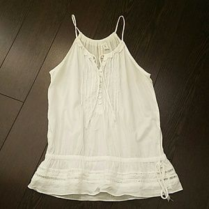 Sleeveless blouse Sz S