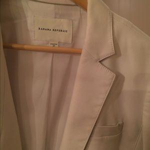 Banana Republic Jackets & Blazers - Off white banana republic blazer