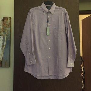 Brand New: Men's Covington lilac dress shirt