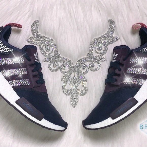 W R1 Runner Poshmark Swarovski ShoesNmd Womens Adidas Blinged fb7gyY6v