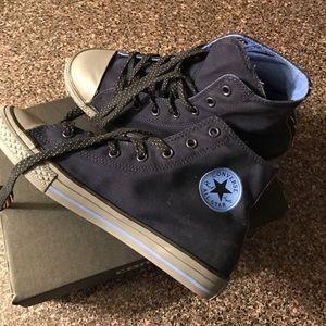 Converse Other - ⚡️FLASH SALE⚡️Blue converse tennis shoes
