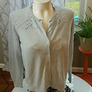 Ann Taylor Loft  Cardigan Sweater Size XL