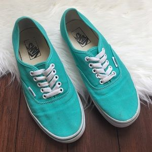 Vans Shoes - | Vans | Mint Green Sneakers