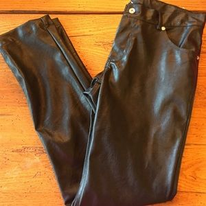 Kate Mack Other - Boutique Kate  Mack faux leather skinny pants