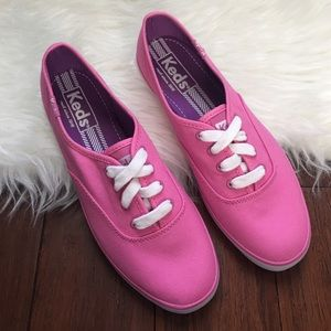Keds Shoes - | Keds | Pink and White Classic Sneakers