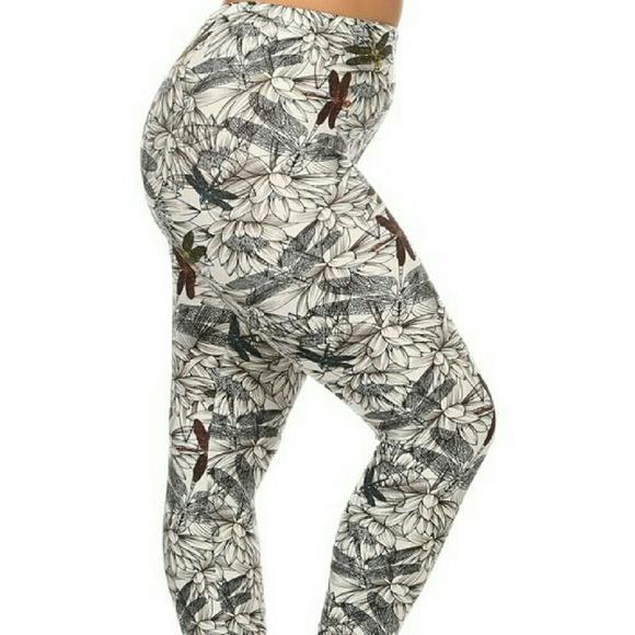 718e30896ed91 boutique Pants | Sale Plus Size Dragonfly Leggings | Poshmark