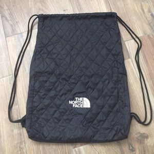 North Face Handbags - North face draw string backpack