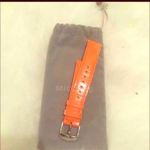 Michele Accessories - Michele leather strap in 18mm