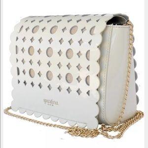 Spartina 449 Handbags - Spartina 449 Daisy Dash Crossbody Bag Gold Strap